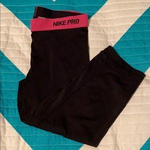 Nike Pro dri-fit running tights